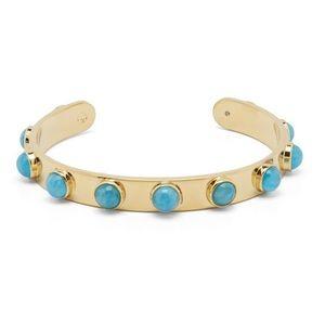 Kate ♠️ Tag Along Cuff Bangle Bracelet Turquoise